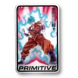 Primitive Champion Silver pegatina