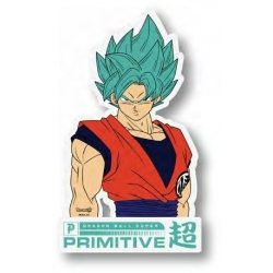 Primitive Goku Classic Clear sticker