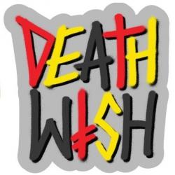 Deathwish Deathstack - Mirror sticker