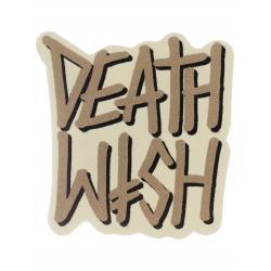 Deathwish Deathstack - Cream sticker