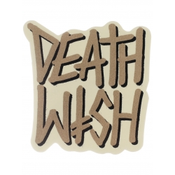 Deathwish Deathstack - Cream sticker