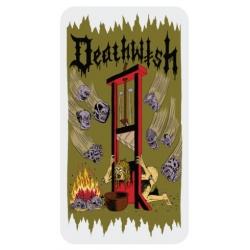 Deathwish Death Wichz - Guilhotina autocolante