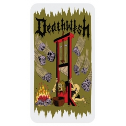 Deathwish Death Wichz - Guillotine sticker
