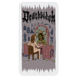 Deathwish Death Wichz - Mirror sticker