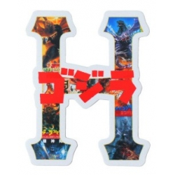 HUF Godzilla - H sticker