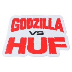HUF Godzilla vs Huf sticker