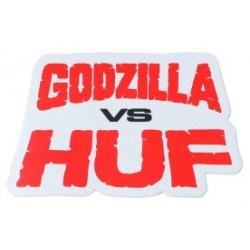 HUF Godzilla vs Huf sticker