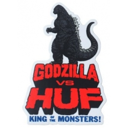 HUF King of the monsters - Godzilla sticker