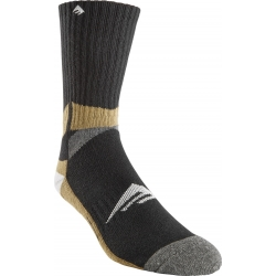 Emerica Turtle Face Knee High Black socks