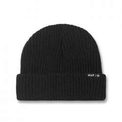 HUF Essentials Usual Black bonnet