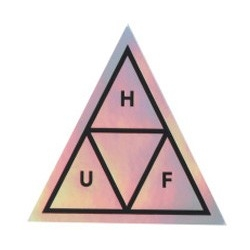 HUF Triangle - Mirror sticker