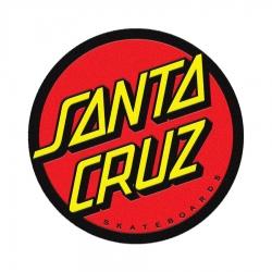 Santa Cruz Tapis Classic Dot Black Red Yellow accessoire