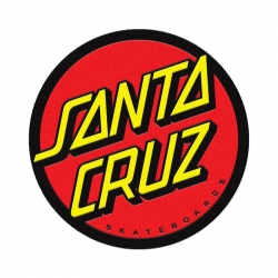 Santa Cruz Tapis Classic Dot Black Red Yellow accessory