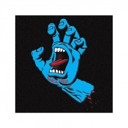 Santa Cruz Tapis Screaming Hand Black Blue accessory