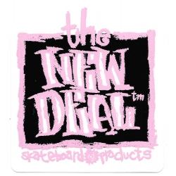 New Deal Napkin Black sticker