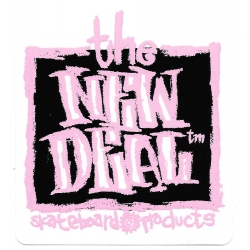 New Deal Napkin Black sticker