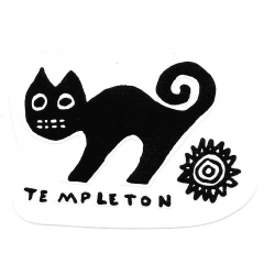 New Deal Ed Templeton Pro sticker