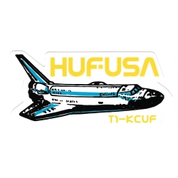 HUF Triangle - Godzilla sticker