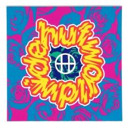 HUF Target Wordlwide sticker