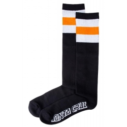 Santa Cruz Bench Sock Black chaussettes