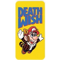 Deathwish Flying Mario sticker
