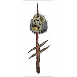 Deathwish Rotten Head aufkleber