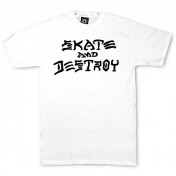 Thrasher Skate And Destroy - White S maglietta