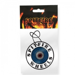 Spitfire Air Freshener OG Swirl White Blue Red accessory