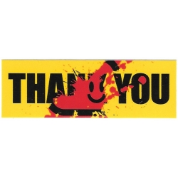 Thank You Kill Thank You sticker