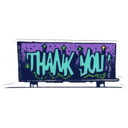 Thank You Guetto Screen sticker