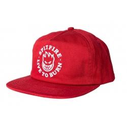 Spitfire Bighead LTB Red White cap