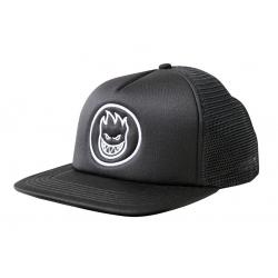 Spitfire Bighead Circle Black White cap