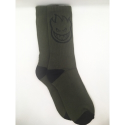 Spitfire Bighead Olive Black chaussettes