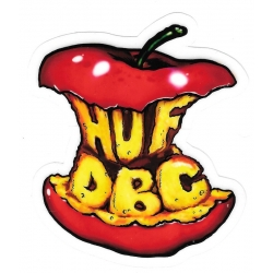 HUF Eating Apple sticker
