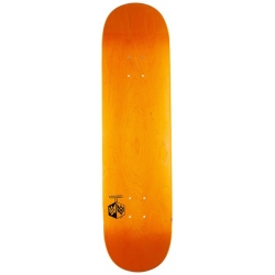Mini Logo Chevron Detonator Dyed Orange 8.5 X 32.08 skateboard-deck