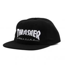 Thrasher Magazine Logo Felt Black cap