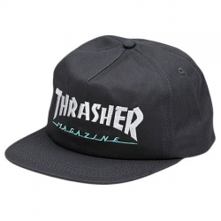 Thrasher Magazine Logo Two-tone Grey casquette