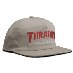 Thrasher Magazine Logo Two-tone Tan casquette
