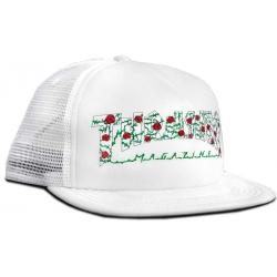 Thrasher Roses Mesh White cap