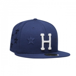 HUF Classic H All Star New Era Insignia Blue cap