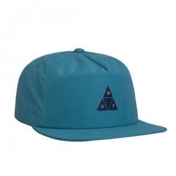 HUF Nylon Triple Triangle Snapback Aqua casquette