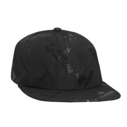 HUF Peak 6 Panel Black casquette