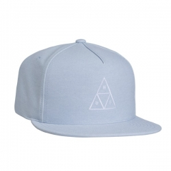 HUF Triple Triangle Snapback Blue casquette
