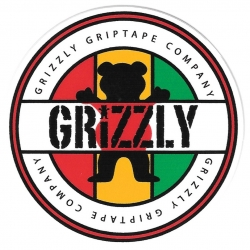 Grizzly Jamaica logo sticker