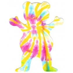 Grizzly Tie dye 2 bear sticker
