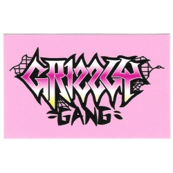 Grizzly Gang sticker