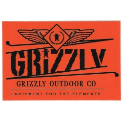 Grizzly Outdoor Co sticker