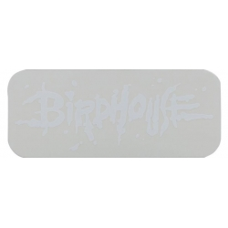 Birdhouse Blood Logo White sticker