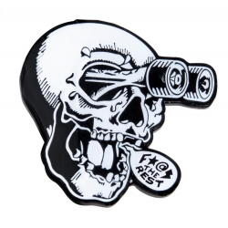 Independent FTR Skull pins-badge