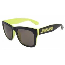 Santa Cruz Dazed Black / Safety Green sunglasses